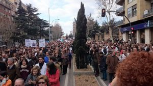 manifestacion marzo 2015