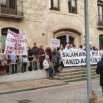 La séptima marea blanca en Salamanca en defensa de la sanidad pública.